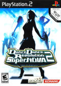 Dance Dance Revolution SuperNOVA2 PlayStation 2 Front Cover