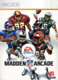 Madden NFL Arcade Xbox 360 Front Cover