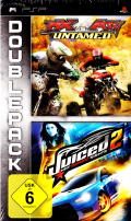 DoublePack: MX vs. ATV Untamed / Juiced 2: Hot Import Nights PSP Front Cover
