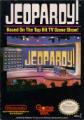 Jeopardy! NES Front Cover