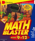 Math Blaster Ages 9-12  Macintosh Front Cover