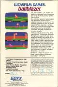Ballblazer Atari 8-bit Back Cover