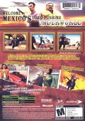 Total Overdose: A Gunslinger's Tale in Mexico Xbox Back Cover