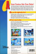 Mickey's Jigsaw Puzzles DOS Back Cover