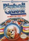 Pinball Quest NES Front Cover