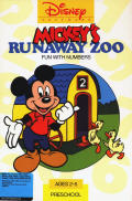 Mickey's Runaway Zoo DOS Front Cover