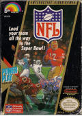 NFL NES Front Cover