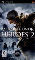 Medal of Honor: Heroes 2 PSP Front Cover