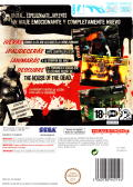 The House of the Dead: Overkill Wii Back Cover