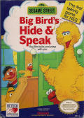 Big Bird's Hide and Speak NES Front Cover