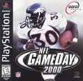 NFL GameDay 2000 PlayStation Front Cover