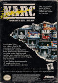 NARC NES Back Cover