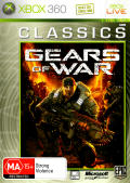 Gears of War Xbox 360 Front Cover