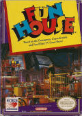 Fun House NES Front Cover