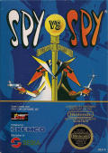 Spy vs Spy NES Front Cover
