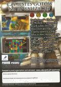 Puzzle Quest: Challenge of the Warlords Windows Other Keep case - back