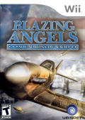 Blazing Angels: Squadrons of WWII Wii Front Cover