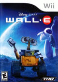 Wall-E Wii Front Cover