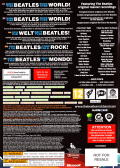The Beatles: Rock Band Xbox 360 Other Keep case - back