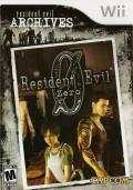 Resident Evil Zero Wii Front Cover