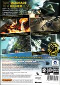 Tom Clancy's H.A.W.X Xbox 360 Back Cover
