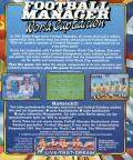 Football Manager: World Cup Edition 1990 MSX Back Cover