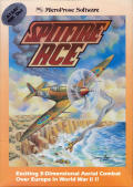 Spitfire Ace Atari 8-bit Front Cover