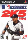 Major League Baseball 2K5 PlayStation 2 Front Cover