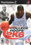 College Hoops 2K6 PlayStation 2 Front Cover