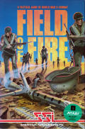 Field of Fire Atari 8-bit Front Cover