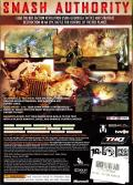 Red Faction: Guerrilla Xbox 360 Back Cover