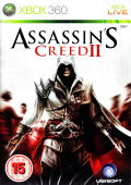 Assassin's Creed II Xbox 360 Front Cover