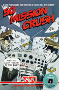 50 Mission Crush Atari 8-bit Front Cover