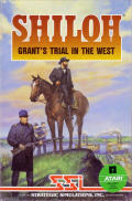Shiloh: Grant's Trial in the West Atari 8-bit Front Cover