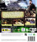 Lost: Via Domus PlayStation 3 Back Cover