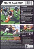 Madden NFL 07 Xbox Back Cover
