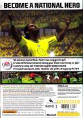 FIFA Soccer 06 Xbox 360 Back Cover