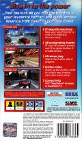 OutRun 2006: Coast 2 Coast PSP Back Cover