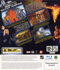 Fantastic Four: Rise of the Silver Surfer PlayStation 3 Back Cover