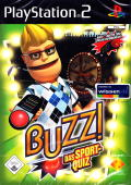 Buzz!: The Sports Quiz PlayStation 2 Front Cover