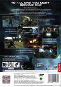 Terminator 3: The Redemption PlayStation 2 Back Cover