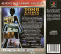 Tomb Raider: Chronicles PlayStation Back Cover