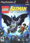 LEGO Batman: The Videogame PlayStation 2 Front Cover