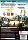 Fallout 3 (Collector's Edition) Xbox 360 Other Keep Case - Back