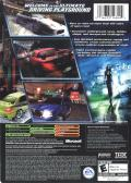 Need for Speed Underground 2 Xbox Back Cover