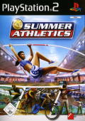 Summer Athletics: The Ultimate Challenge PlayStation 2 Front Cover