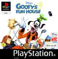 Disney's Goofy's Fun House PlayStation Front Cover