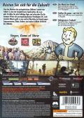 Fallout 3 Windows Back Cover