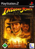 Indiana Jones and the Emperor's Tomb PlayStation 2 Front Cover