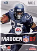 Madden NFL 07 Wii Front Cover